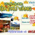 khuyến mãi Mùa Thu Vàng 2018 Vietnam Airlines