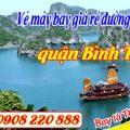 Vé máy bay giá rẻ đường Lê Đình Cẩn quận Bình Tân - Việt Mỹ