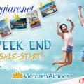 Vietnam Airlines khuyến mãi cuối tuần đi nội địa một chiều