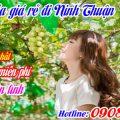 Vé tàu hỏa giá rẻ đi Ninh Thuận