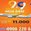 Săn vé chỉ từ 11K ngày siêu mua sắm cùng Jetstar