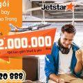 Combo 3 vé chỉ 2.000.000 đồng Vinh - Nha Trang của Jetstar