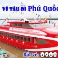 Vé tàu giá rẻ đi Phú Quốc