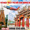Săn vé máy bay từ Hồ Chí Minh đi Đài Nam hãng Vietjet Air