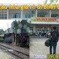 Vé tàu hỏa giá rẻ đi Bình Định