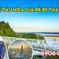 Vé tàu hỏa giá rẻ đi Thanh Hóa