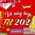 Đặt vé máy bay Tết 2021 giá rẻ nhất