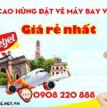 Đi Cao Hùng đặt vé máy bay Vietjet là rẻ nhất