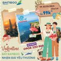 Lễ tình nhân giá yêu thương từ Bamboo Airways