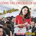 Tuyển cộng tác viên bán vé máy bay từ Đài Loan đi Việt Nam