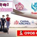 Tuyển đại lý cấp 2 bán vé đi Đài Loan hãng China Airlines