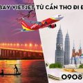 Vé máy bay Vietjet từ Cần Thơ đi Đài Bắc