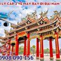 Tuyển đại lý cấp 2 vé máy bay đi Đài Nam tại TPHCM