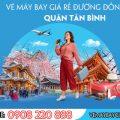 Vé máy bay giá rẻ đường Đồng Đen quận Tân Bình - Việt Mỹ