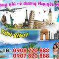 Vé máy bay giá rẻ đường Nguyễn Hồng Đào quận Tân Bình - Việt Mỹ