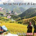 Vé tàu hỏa giá rẻ đi Lào Cai