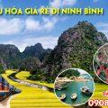 Vé tàu hỏa giá rẻ đi Ninh Bình