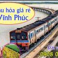 Vé tàu hỏa giá rẻ đi Vĩnh Phúc