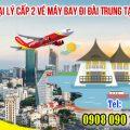Tuyển đại lý cấp 2 vé máy bay đi Đài Trung tại TPHCM