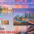 Vé máy bay giá rẻ đường Lâm Văn Bền quận 7 - Việt Mỹ