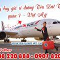 Vé máy bay giá rẻ đường Tôn Dật Tiên quận 7 - Việt Mỹ
