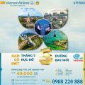 Vietnam Airlines mở thêm 5 đường bay nội địa mới