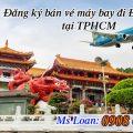 Đăng ký bán vé máy bay đi Đài Loan tại TPHCM