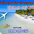 Tuyển CTV bán vé Vietnam Airlines từ Đà Lạt - Phú Quốc