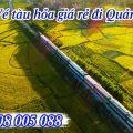 Vé tàu hỏa giá rẻ đi Quảng Bình
