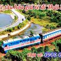 Vé tàu hỏa giá rẻ đi Thái Nguyên