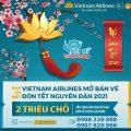 Vietnam Airlines Group mở bán vé TẾT 2021