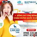 Bamboo Airways khuyến mãi vé đồng giá chỉ từ 29K