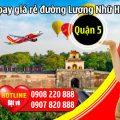 Vé máy bay giá rẻ đường Lương Nhữ Học quận 5 - Việt Mỹ