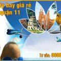 Vé máy bay giá rẻ khu vực Công viên văn hóa Đầm Sen quận 11 - Việt Mỹ
