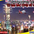 Vé máy bay Tết Vietjet Air từ Đài Bắc (TPE) về Việt Nam