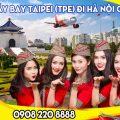 Vietjet vé máy bay Taipei (TPE) đi Hà Nội giá rẻ