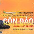 Bamboo Airways chính thức mở bán vé bay thẳng tới Côn Đảo