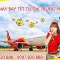 Vé máy bay Tết Vietjet Air từ Đài Trung (RMQ) về Việt Nam