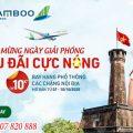 Bamboo Airways khuyến mãi đồng giá 10K