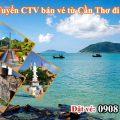 Tuyển CTV bán vé Bamboo Airways từ Cần Thơ đi Côn Đảo