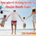 Vé máy bay giá rẻ đường Kênh Nước Đen quận Bình Tân - Việt Mỹ