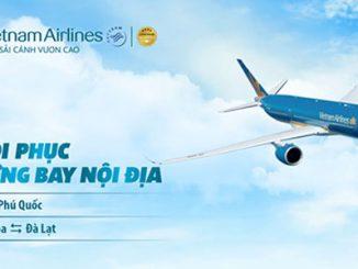 Vietnam Airlines khôi phục các đường bay nội địa trong tháng 11