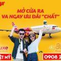 Ưu đãi hạng vé Deluxe và SkyBoss của Vietjet Air