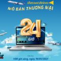 Vietravel Airlines mở bán vé chuyến bay Thương mại